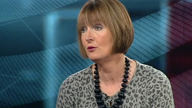 Deputy Labour leader, Harriet Harman
