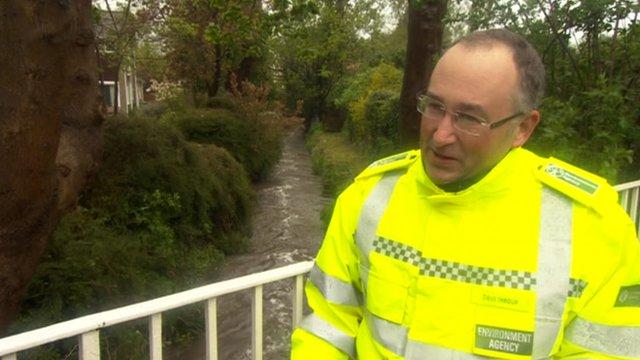Environment Agency spokesman