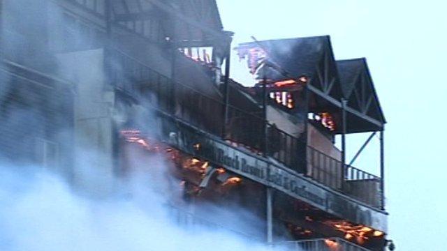 Falmouth hotel fire