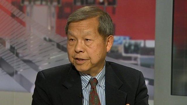 Yukon Huang on World News America 30 April 2012