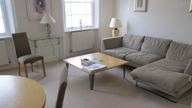 Gareth Williams' flat