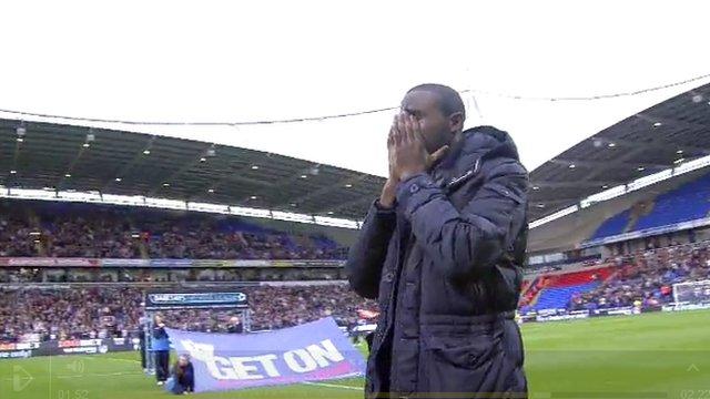 Bolton's Fabrice Muamba