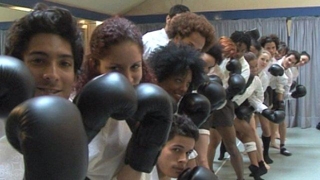 Dancers from the Danza Contemporanea de Cuba