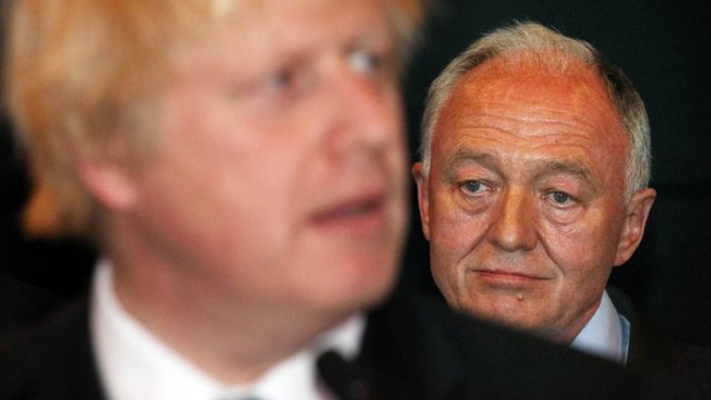 Boris Johnson and Ken Livingstone