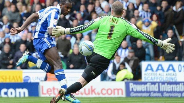 Mikail Antonio scores Sheffield Wednesday's opener