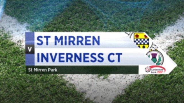 St Mirren v Inverness CT