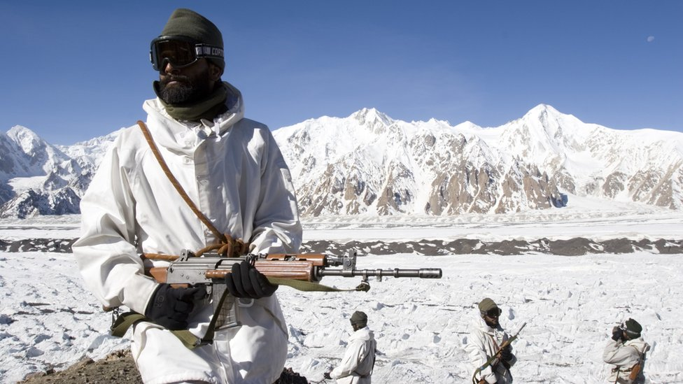 BBC News - In pictures: Siachen, the world's highest battlefield