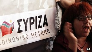 Syriza supporters, 6 May 12