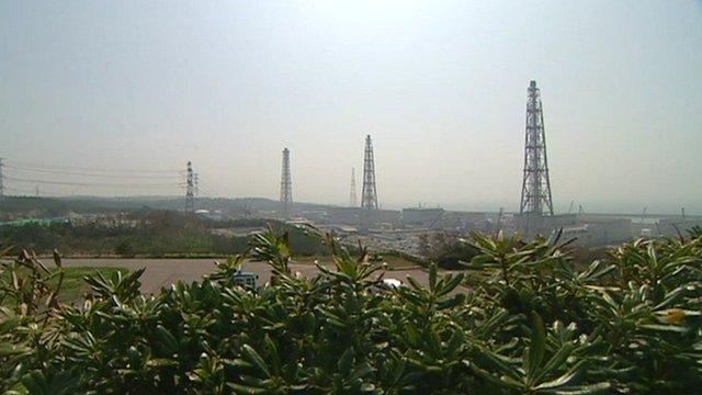 Kashiwazaki-Kariwa nuclear plant in Japan