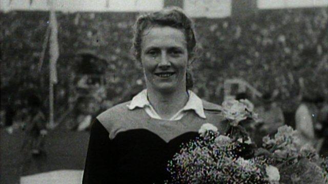 1948 London Olympics star Fanny Blankers-Koen