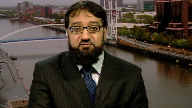 Imam Irfan Chishti from the Rochdale Council of Mosques