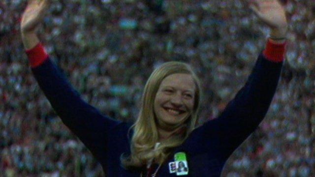1972 Olympic pentathlon champion Mary Peters