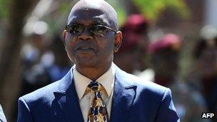 Richard Mdluli in Pretoria in April 2012