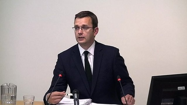 Andy Coulson at Leveson Inquiry