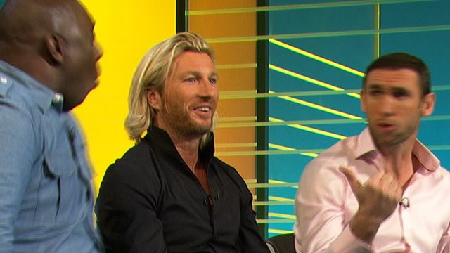 Garth Crooks, Robbie Savage, Martin Keown