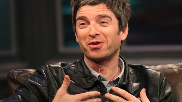 Manchester City fan Noel Gallagher