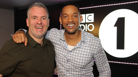 Chris Moyles and Will Smith