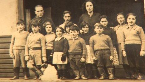 Spanish refugee children