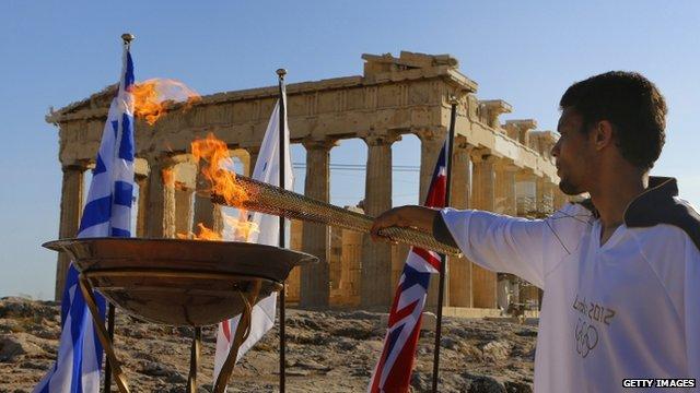 Acropolis ceremony