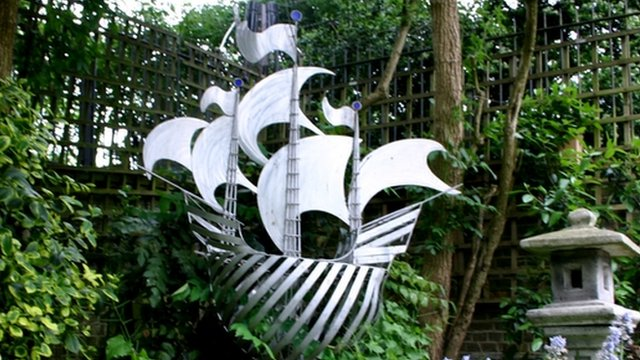 Blue Peter ship