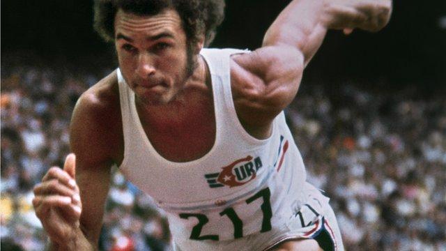 Cuban athlete Alberto Juantorena