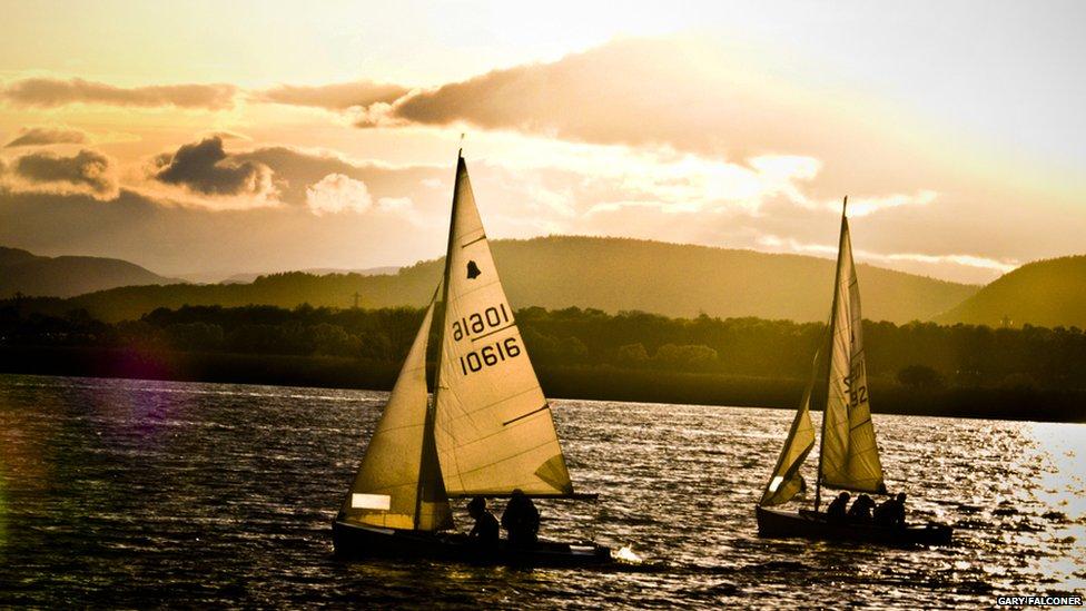 Newburgh sailing club