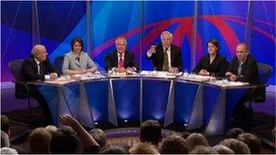 Panel Question Time yng Nghaerdydd