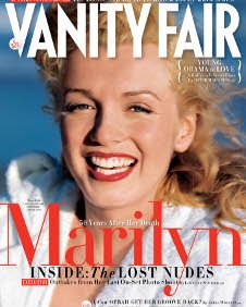 Cover of the June 2012 issue of Vanity Fair (Cover photo by André de Dienes, 1949 / OneWest Media)