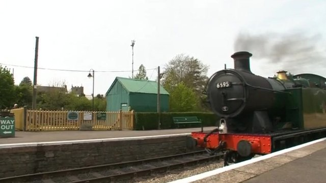 Corfe Castle station
