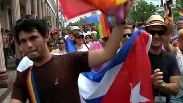 Cuba's rally against homophobia