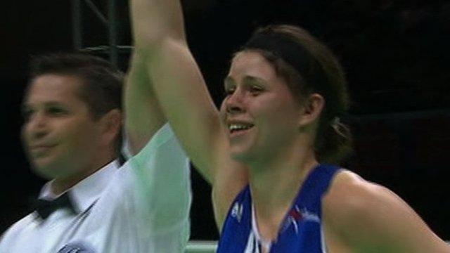Savannah Marshall wins world gold