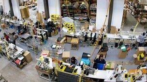 Timbuk2's factory