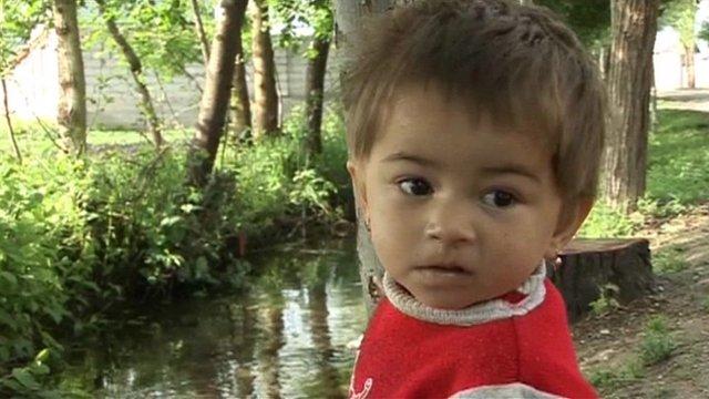 Tajik child