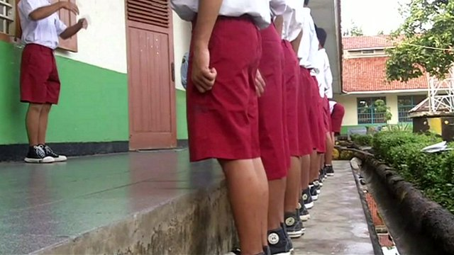 Children in Tangerang Penitentiary, the oldest children prison in Indonesia