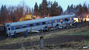 Wreckage of Nevsky Express (Kirill Kudryavtsev 28 Nov 2009)