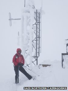 Weather station on Cairn Gorm last Friday