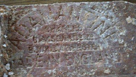 The brick discovered off Sir Lanka