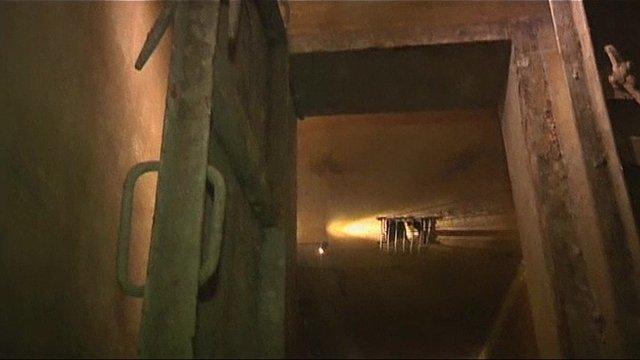 Vietnam War bunker in a Hanoi hotel
