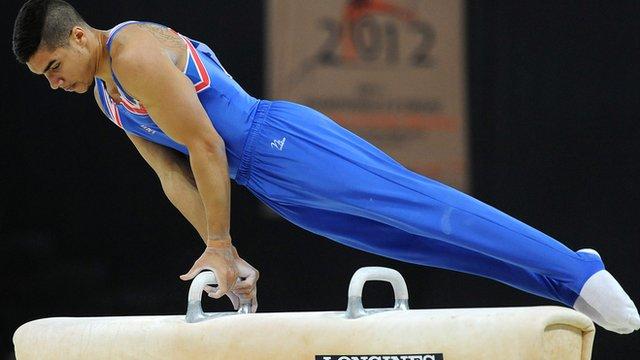 Olympic pommel horse bronze medallist Louis Smith