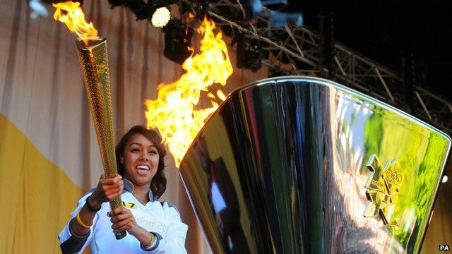 Cardiff Olympic ceremony