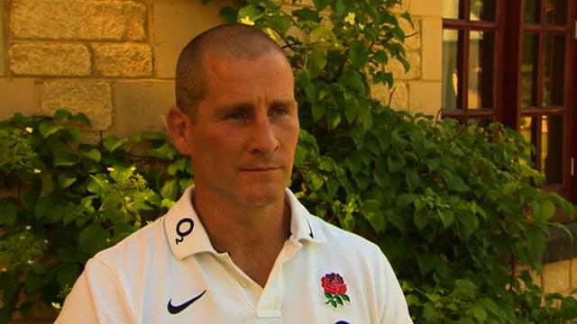 England manager Stuart Lancaster