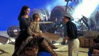 Natalie Portman, Jake Lloyd and Andy Secombe in Star Wars: Episode I - The Phantom Menace
