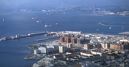 Harbour of Gibraltar