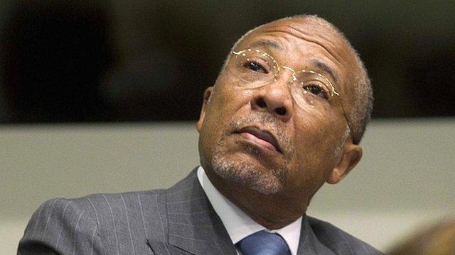 Liberia's former President Charles Taylor