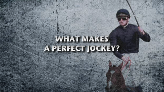What makes a perfect jockey?
