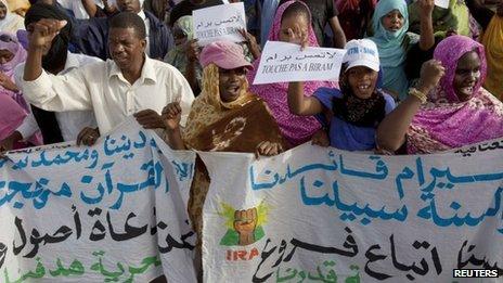 Demonstration in Nouakchott