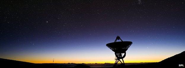 VLBA telescope, Hawaii