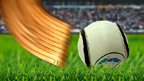 Live shinty hurling from BBC Scotland