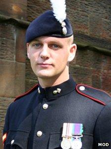 Corporal Michael Thacker