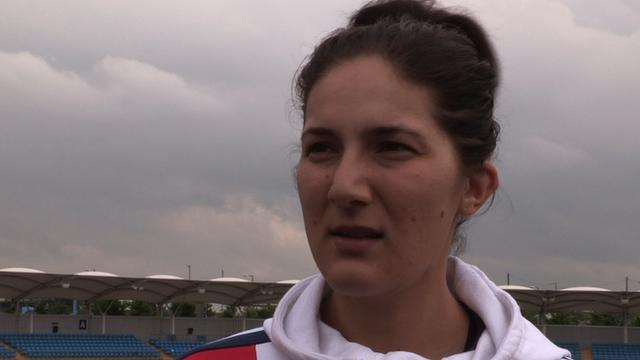 World champion Sarah Stevenson